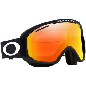 Oakley O Frame 2.0 Pro XM Lunettes de ski Femme, matte black/fire iridium & persimmon